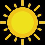 Entspannung durch Sonne tanken