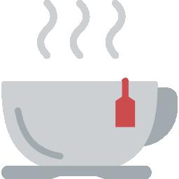 Entspannung durch Tee trinken