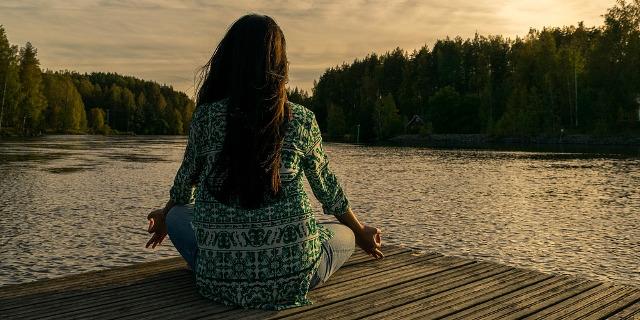 Entspannung: Meditation mit Chin Mudra