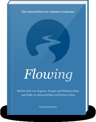 Loslassen Buch: Ebook Flowing Cover vorlaeufig
