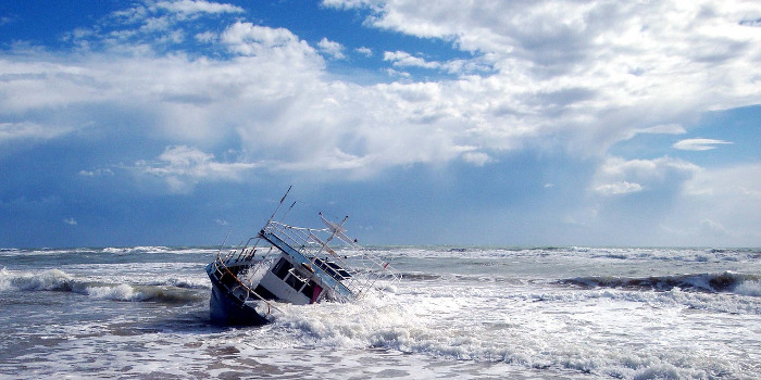 Pobleme im Leben: Schiffbruch