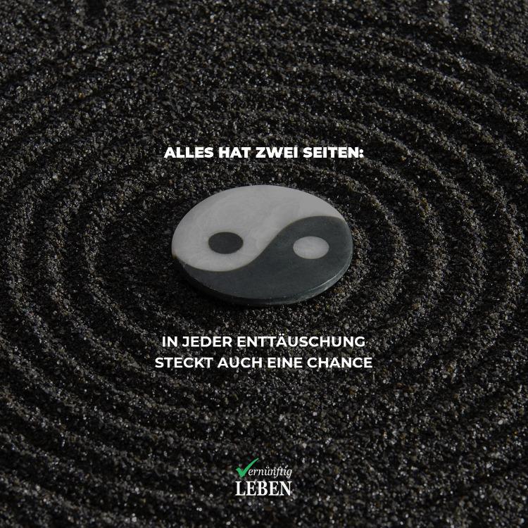 Erwartungen: Yin und Yang: Alles hat zwei Seiten