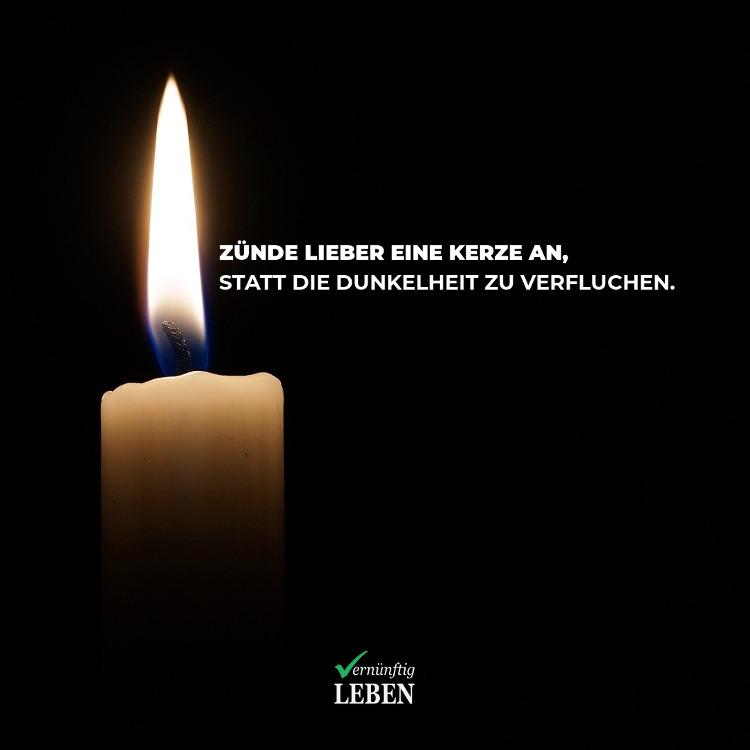 Opferrolle: Zünde lieber eine Kerze an, statt die Dunkelheit zu verfluchen