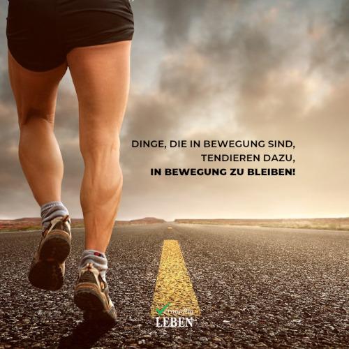 Gewohnheiten ändern: Momentum - Dinge, die in Bewegung sind, tendieren dazu, in Bewegung zu bleiben